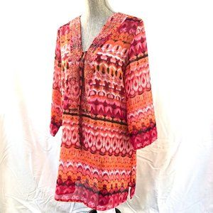 3/$25 Colorful Tunic Cover-up